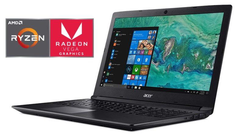Las mejores laptops AMD Ryzen 2018