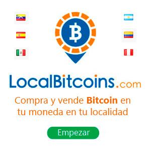 compra y vende Bitcoin en tu moneda y localidad