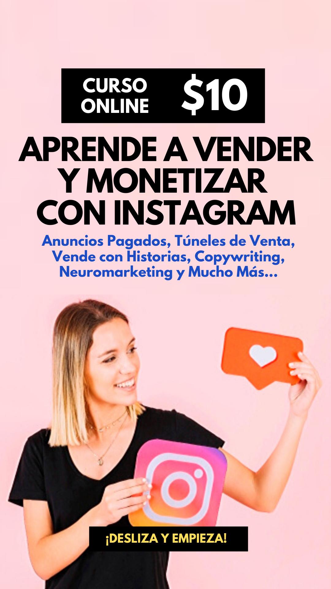 Aprende a ganar dinero con Instagram