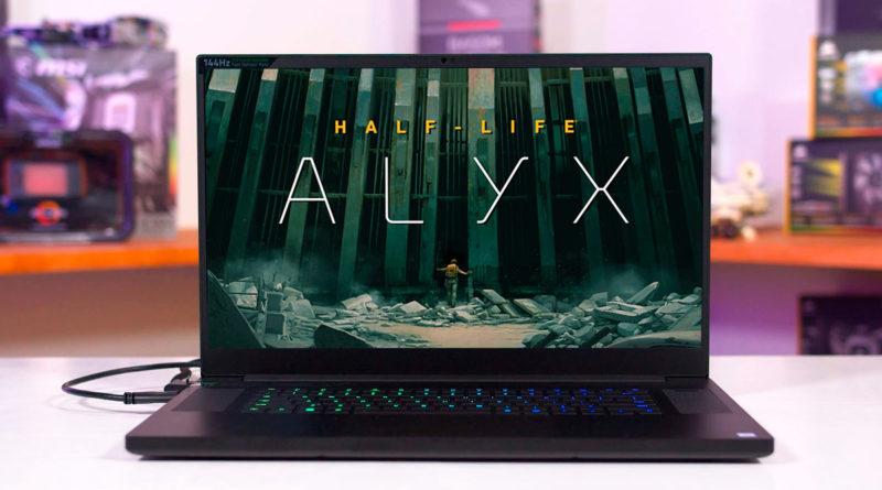 Las mejores laptops para Half Life Alyx