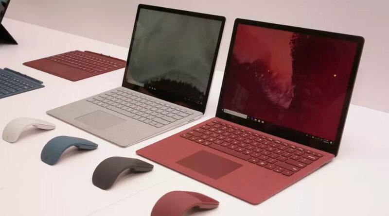 Los mejores portátiles Microsoft