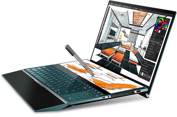 Asus ZenBook Pro Duo UX581 Las mejores laptops para Ingenieros