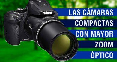 Las cámaras compactas con mayor zoom óptico