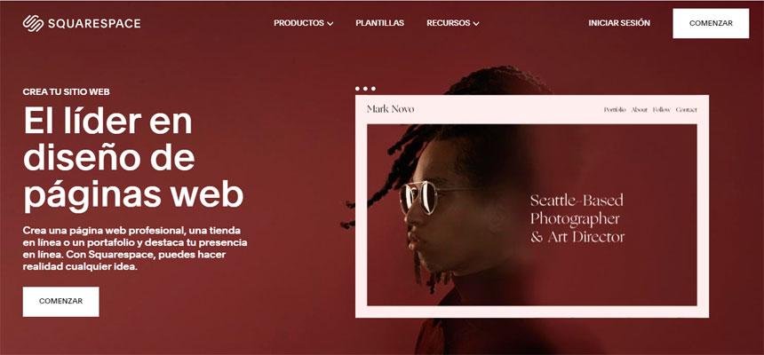Los mejores constructores de páginas web para fotógrafos