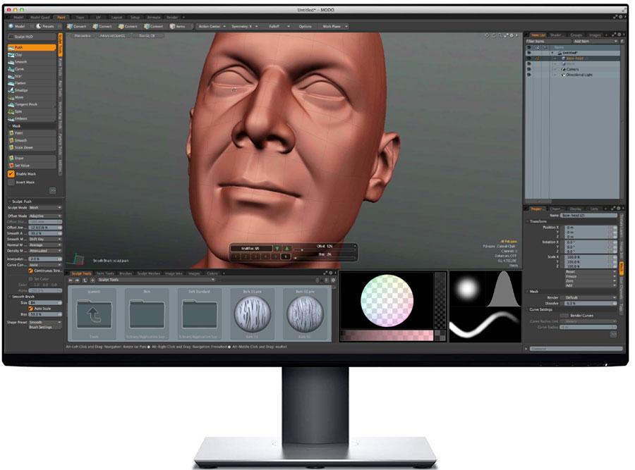 MODO Los mejores programas de modelado 3D