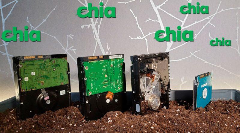Los mejores discos duros para minar Chia Coin