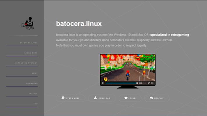 Batocera.linux para Raspberry Pi