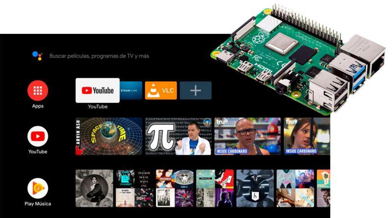 Cómo instalar Android TV en Raspberry Pi 4