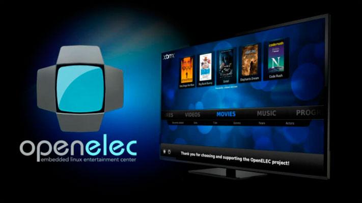 OpenELEC Mediacenter para Raspberry Pi