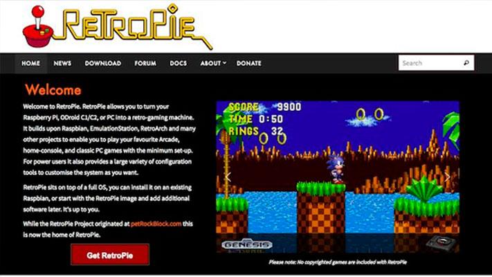 RetroPie: juegos retro en la Raspberry Pi