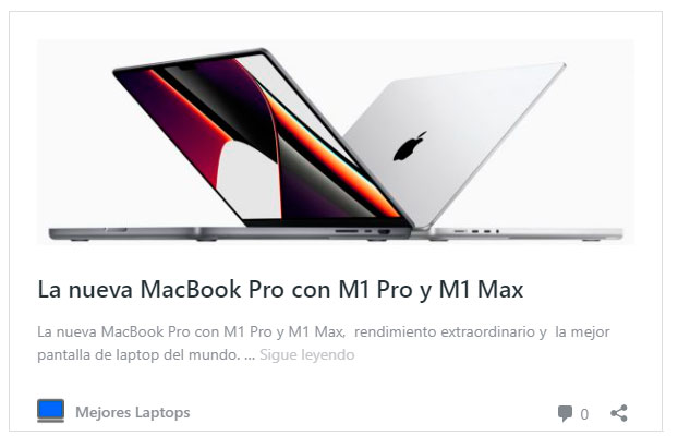 Nueva laptop MacBook Pro la laptop mas poderosa del 2021